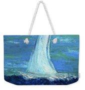 Sailing On The Blue Weekender Tote Bag
