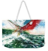 Sailing On The Breeze Weekender Tote Bag