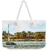 Sailing On The Nile Weekender Tote Bag