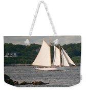 Sailing Portland Weekender Tote Bag