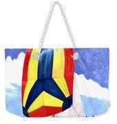 Sailing Primary Colores Spinnaker Weekender Tote Bag