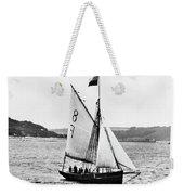 Sailing Ship Cutter Weekender Tote Bag
