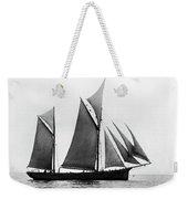 Sailing Ship Ketch, 1876 Weekender Tote Bag