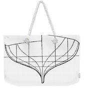 Sailing Ships: Pilot Boat Weekender Tote Bag