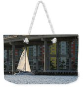 Sailing The Intracoastal Weekender Tote Bag