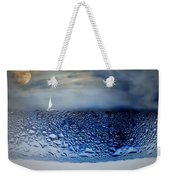 Sailing The Liquid Blue Weekender Tote Bag
