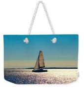 Sailing The Ocean Blue Weekender Tote Bag