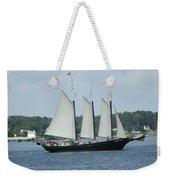Sailing Through History Weekender Tote Bag