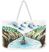 Sailing Through Weekender Tote Bag
