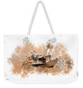 Sailing Time Weekender Tote Bag
