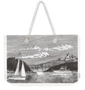 Sailing Mount Hood Oregon Weekender Tote Bag