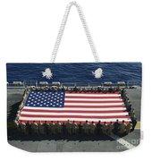Sailors And Marines Display Weekender Tote Bag by Stocktrek Images