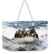 Sailors Conduct Maneuvers Weekender Tote Bag