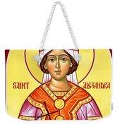 Saint Alexandra Weekender Tote Bag
