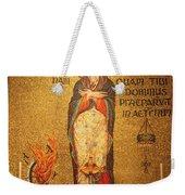 Saint Catherine Of Alexandria Altar Weekender Tote Bag