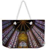 Saint Chapelle Windows Weekender Tote Bag