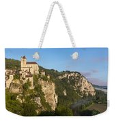 Saint Cirq Panoramic Weekender Tote Bag