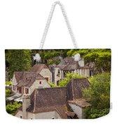 Saint Cirq Rooftops Weekender Tote Bag