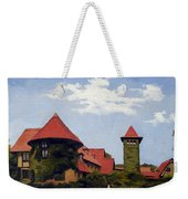 Saint Clements Castle Portland Connecticut Weekender Tote Bag