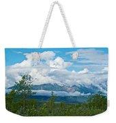 Saint Elias Mountains In Kluane National Park-yk  Weekender Tote Bag
