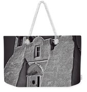 Saint Francis In Black And White Weekender Tote Bag