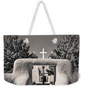 Saint Francis In Sepia Gold Weekender Tote Bag
