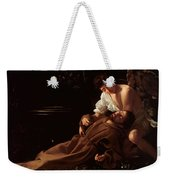 Saint Francis Of Assisi In Ecstasy 2 Weekender Tote Bag by Caravaggio