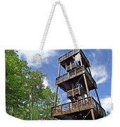Saint Francois Observation Platform On Ile D'orleans-qc Weekender Tote Bag