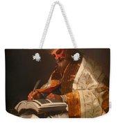 Saint Gregory The Pope Weekender Tote Bag