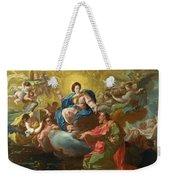 Saint James Being Visited By The Virgin Weekender Tote Bag