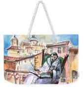 Saint John Of The Cross In Salamanca Weekender Tote Bag