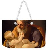Saint Joseph And The Christ Child Weekender Tote Bag