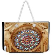 Saint Josephs Cathedral Stained Glass Window Buffalo New York Weekender Tote Bag