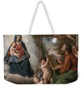 Saint Luke Weekender Tote Bag