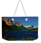 Saint Mary Lake And Wild Goose Island Weekender Tote Bag