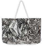 Saint Michael And The Dragon Weekender Tote Bag