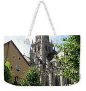 Saint Nazaire Cathedral Autun Weekender Tote Bag