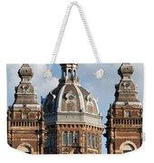 Saint Nicholas Church In Amsterdam Weekender Tote Bag