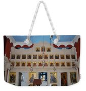 Saint Nicholas Erikousa 1822 Weekender Tote Bag