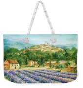 Saint Paul De Vence And Lavender Weekender Tote Bag