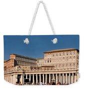 Saint Peters Square Weekender Tote Bag