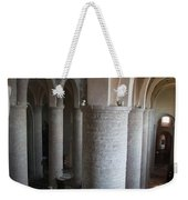 Saint Philibert Church Interior Burgundy Weekender Tote Bag