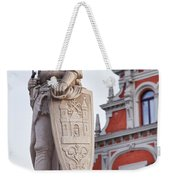 Saint Roland I Riga Old Town Weekender Tote Bag