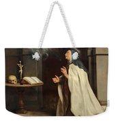 Saint Teresa Of Avila's Vision Of The Holy Spirit Weekender Tote Bag
