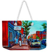 Saint Viateur Bagel Shop Weekender Tote Bag