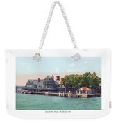 Sainte Claire Flats - Michigan - The Old Club - 1920 Weekender Tote Bag