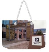 Saints - Champions Square - New Orleans La Weekender Tote Bag