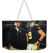 Saints Dynamic Duo Weekender Tote Bag