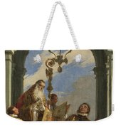 Saints Maximus And Oswald Weekender Tote Bag