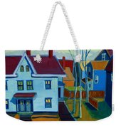 Saints Memorial View Weekender Tote Bag